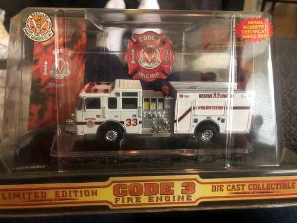 Fire truck collectible