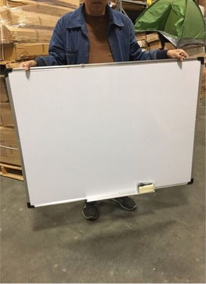 New 47x35 inches dry erase marker writing tutor board with eraser included magnetic for Sale in Covina, CA