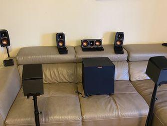 Klipsch Speaker With Onkyo Dolby Atmos Speaker 7.1 for Sale in Seattle,  WA