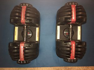 Bowflex 552 Adjustable Dumbbells for Sale in Plano, TX
