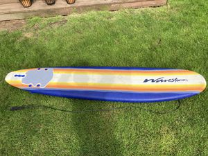 8 ft surf board and wet suit for Sale in Tigard, OR