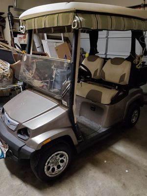 2010 Polaris 48 volt street legal golf cart for Sale in Buda, TX