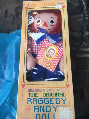 The Original 1971 Raggedy Andy Doll in Box for Sale in Parma, OH