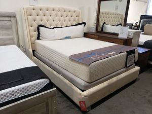New queen size bed frame tax included free delivery for Sale in Hayward, CA
