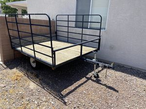Trailer for ATV/Quad/Dirt-bike/Off-road Vehicle Title in hand for Sale in Las Vegas, NV