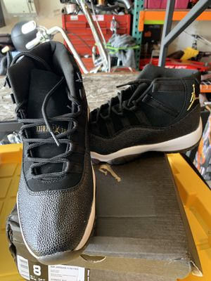 Size 8 pearl black Jordan's for Sale in Vacaville, CA