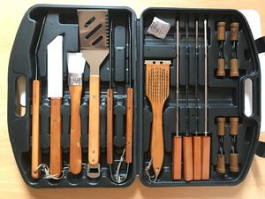 18pcs BBQ tool set for Sale in Beverly Hills, CA
