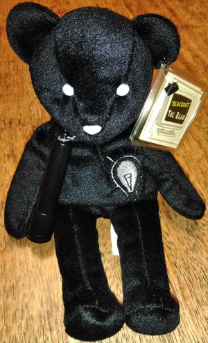 $12 OBO 1999 Blackout the Bear Bean Bag Toy Doll with Flashlight for Sale in Nashville, TN