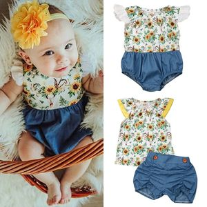 $10 ea sunflower romper for Sale in National City, CA