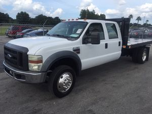 2008 ford f450 diesel 66,000 miles for Sale in Tampa, FL