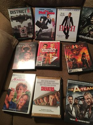 Miscellaneous dvd s for Sale in Rancho Cucamonga, CA