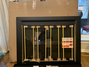 Medium glass fireplace doors for Sale in Fort Worth, TX