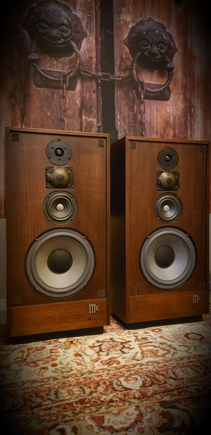 🇺🇸 Vintage McIntosh XR14Isoplanar Radiator Loudspeaker System for Sale in Maricopa, AZ