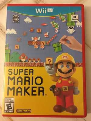 Super Mario Maker for Nintendo Wii U for Sale in Brentwood, CA