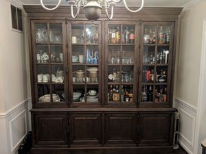 Dining Cabinet / Hutch / Sideboard Restoration Hardware, French Casement for Sale in Lincolnia, VA