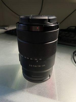 Sony 18-135mm Lens for Sale in Phoenix, AZ