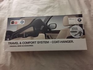 BMW seat coat hanger for Sale in Albany, NY