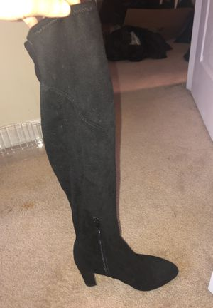 Thigh High Black Heel Boots for Sale in Ashburn, VA