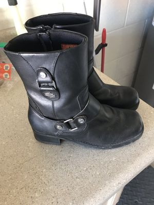 Harley Davidson Women's Motorcycle Boots for Sale in North Ridgeville, OH