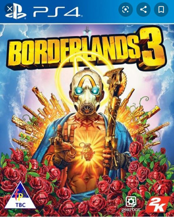 Borderlands 3 for the PS4 (Brand New)