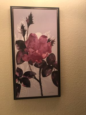 Decorative flower wall art for Sale in Kent, WA