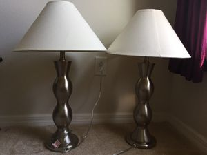 Night lamps (15$) ea. n bar stools (25) for Sale in Riverview, FL