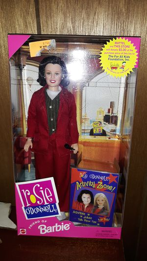 Rosie O'Donnell Barbie doll from 1999 for Sale in Zanesville, OH