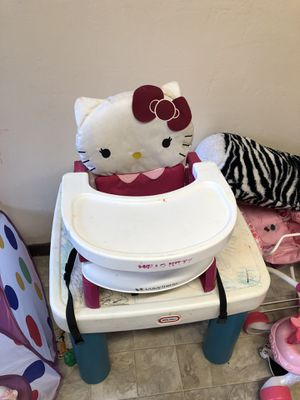 Hello Kitty high chair for Sale in San Francisco, CA