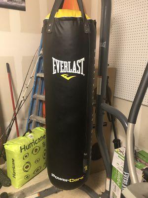 Everlast Punching bag set for Sale in Niederwald, TX