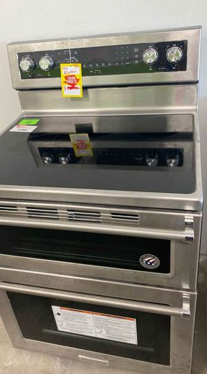 Kitchen aid KFED500ESS electric stove double oven 🤩🤩🤩 82M1 for Sale in San Antonio, TX