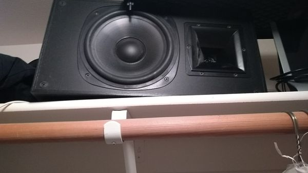 Klipsch speakers, pair. Absolutely like new. Awesome