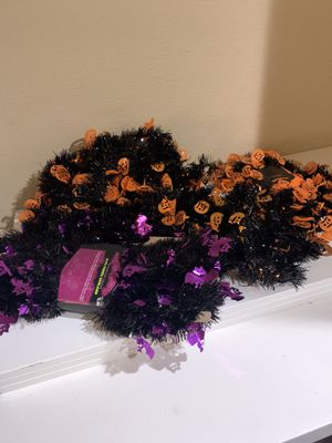Halloween Garland (tinsel) for Sale in Hillsboro, OR