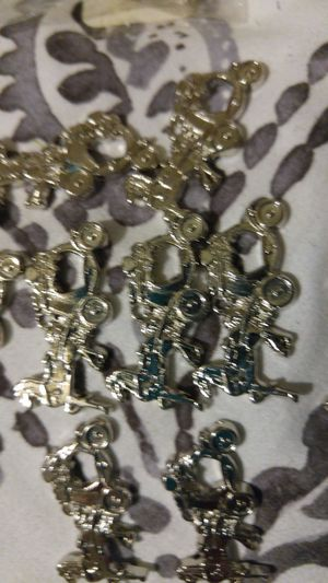 Silver Coach charms gifts 2. dozen for Quience wedding. 40.00 for Sale in Phoenix, AZ