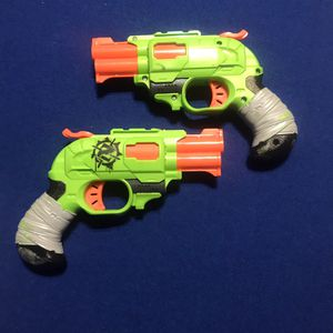 NERF ZOMBIE STRIKE; DOUBLE STRIKE GUNS for Sale in Chula Vista, CA