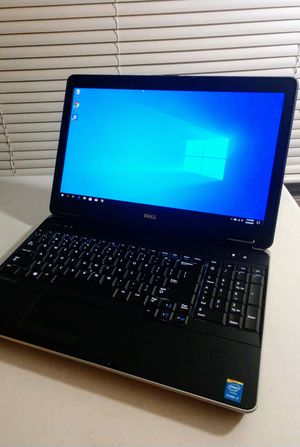 Mint Condition 15inch Dell Latitude Premium laptop w/Warranty: Intel i7/8GB Memory/Windows 10 Pro/spill-resistant backlit keyboard/ for Sale in Norfolk, VA
