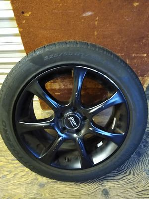 """4 Sports edition rims 17"""" with tires for Sale in Redmond, WA"""