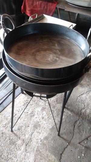 Discos de arado para dorar pollo, mojarras, tacos dorados,etc. etc. for Sale in Aurora, IL