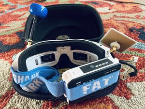 Fat Shark FPV Goggles + La Forge diversity module, comes with extra batteries for Sale in Beaverton, OR