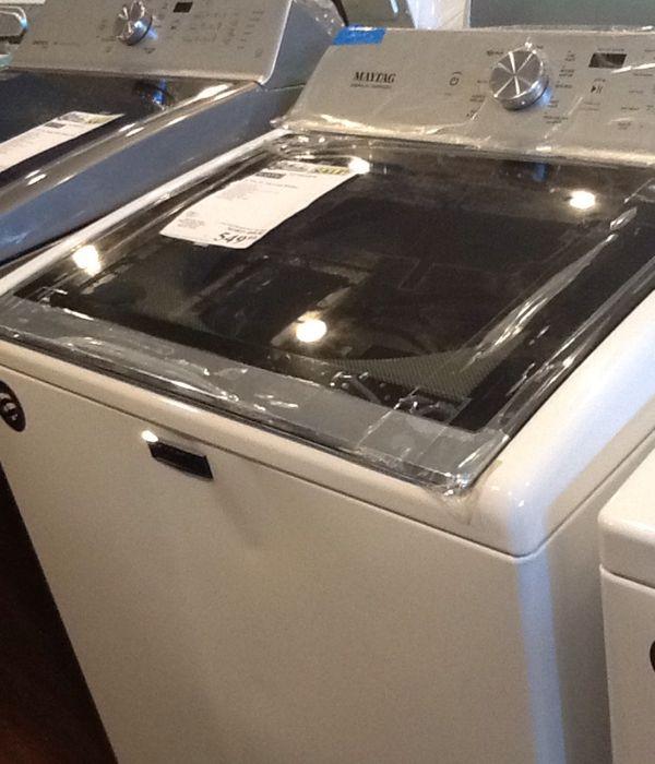 New open box maytag washer MVWB765FW