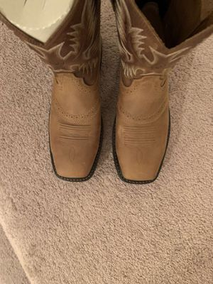 Ariat steel toed boots for Sale in Chesterfield, VA