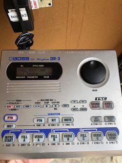 Boss DR-3 Dr. Rhythm Drum Machine for Sale in Monterey, CA