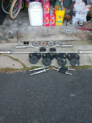 Weights and bench for Sale in Brick Township, NJ