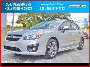 2012 Subaru Impreza Wagon for Sale in Hollywood, FL