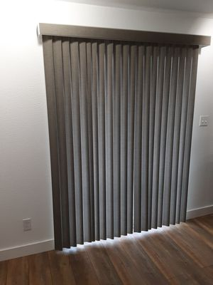 Blinds for a Sliding glass door Levelor for Sale in SeaTac, WA