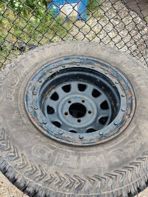 15-in rims with 31-in tires for Jeep for Sale in Montgomery, IL