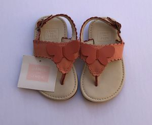Janie and jack butterfly sandals for Sale in Biloxi, MS