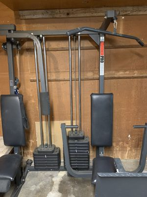 Weight set/ home gym set for Sale in Fort Worth, TX