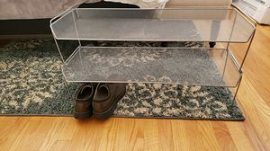 Silver shoe rack for Sale in Milford, CT