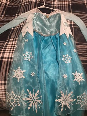 Elsa Dress from Frozen 2. Size 7/8 for Sale in North Ridgeville, OH