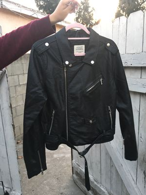 Leather Jacket & Coupon for Sale in South Gate, CA